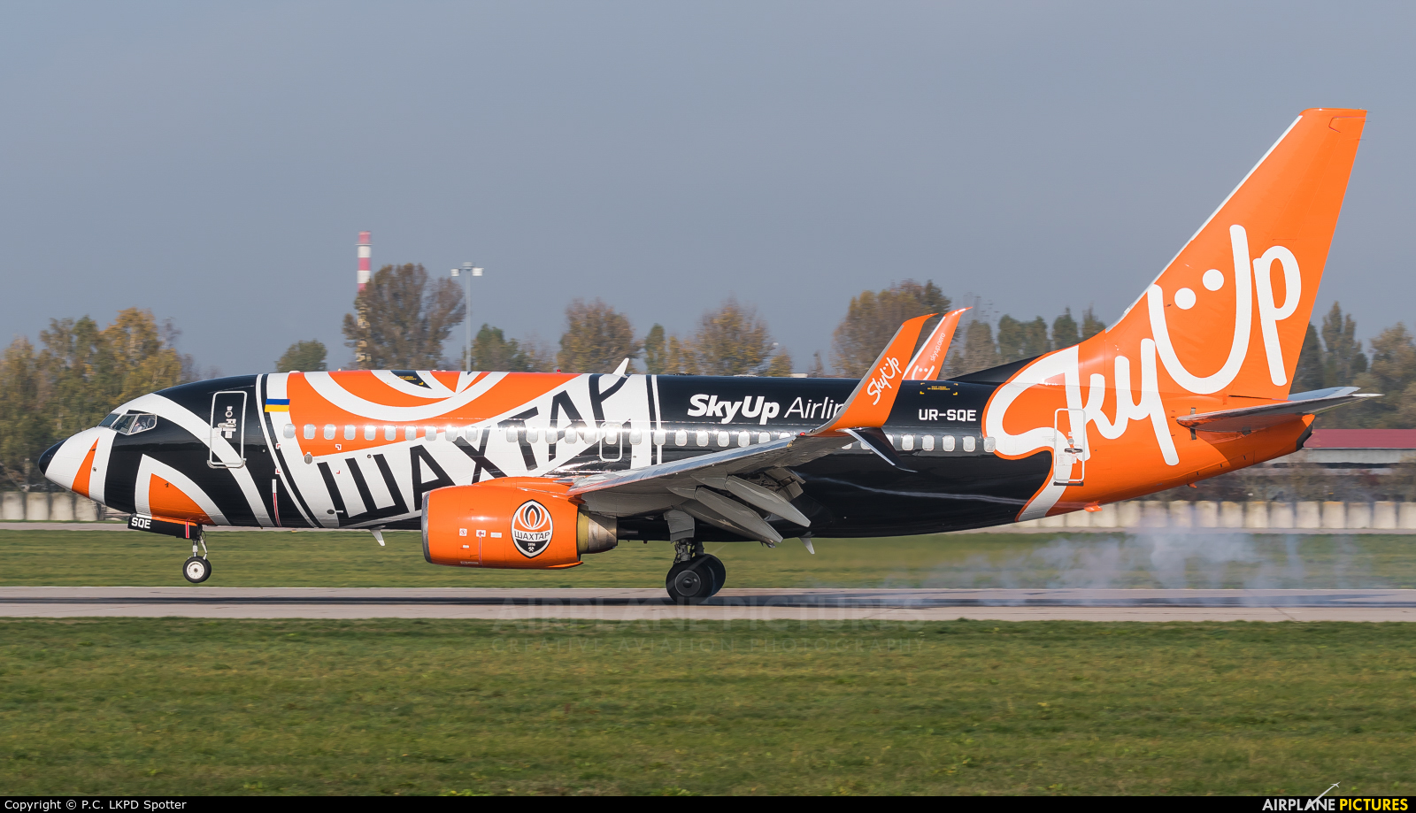 SkyUp Airlines UR-SQE aircraft at Pardubice