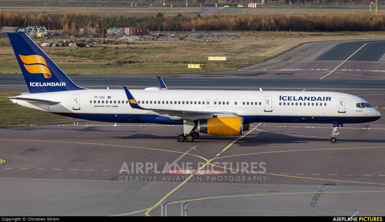 Icelandair TF-ISV aircraft at Helsinki - Vantaa