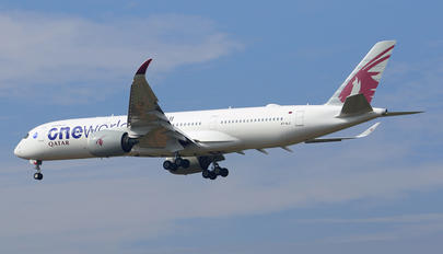 A7-ALZ - Qatar Airways Airbus A350-900