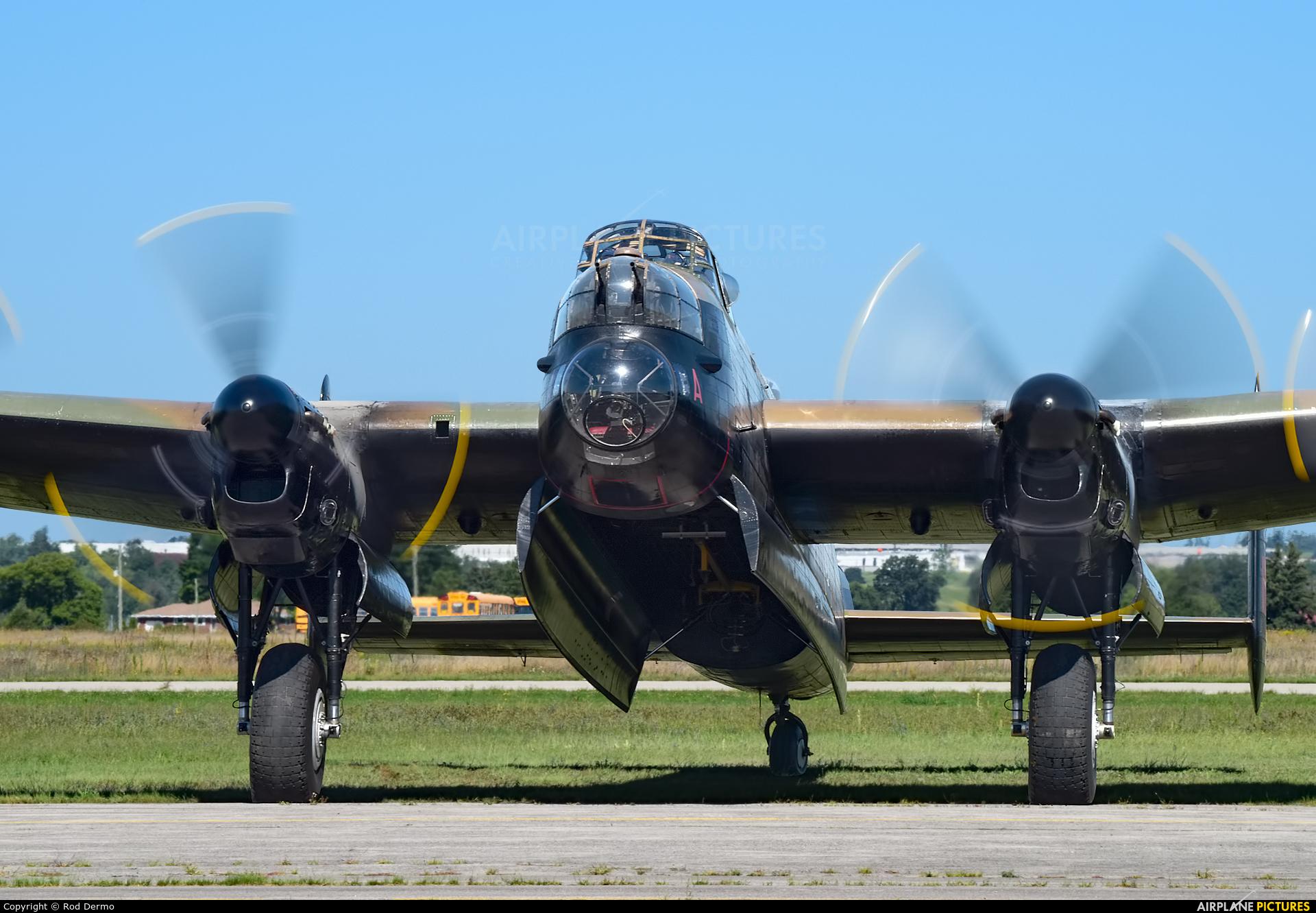 Canadian Warplane Heritage C-GVRA aircraft at Brantford, ON