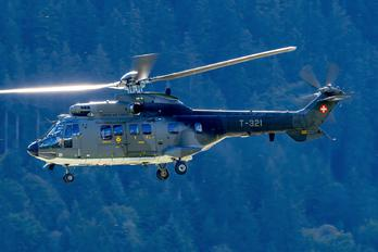 T-321 - Switzerland - Air Force Aerospatiale AS332 Super Puma