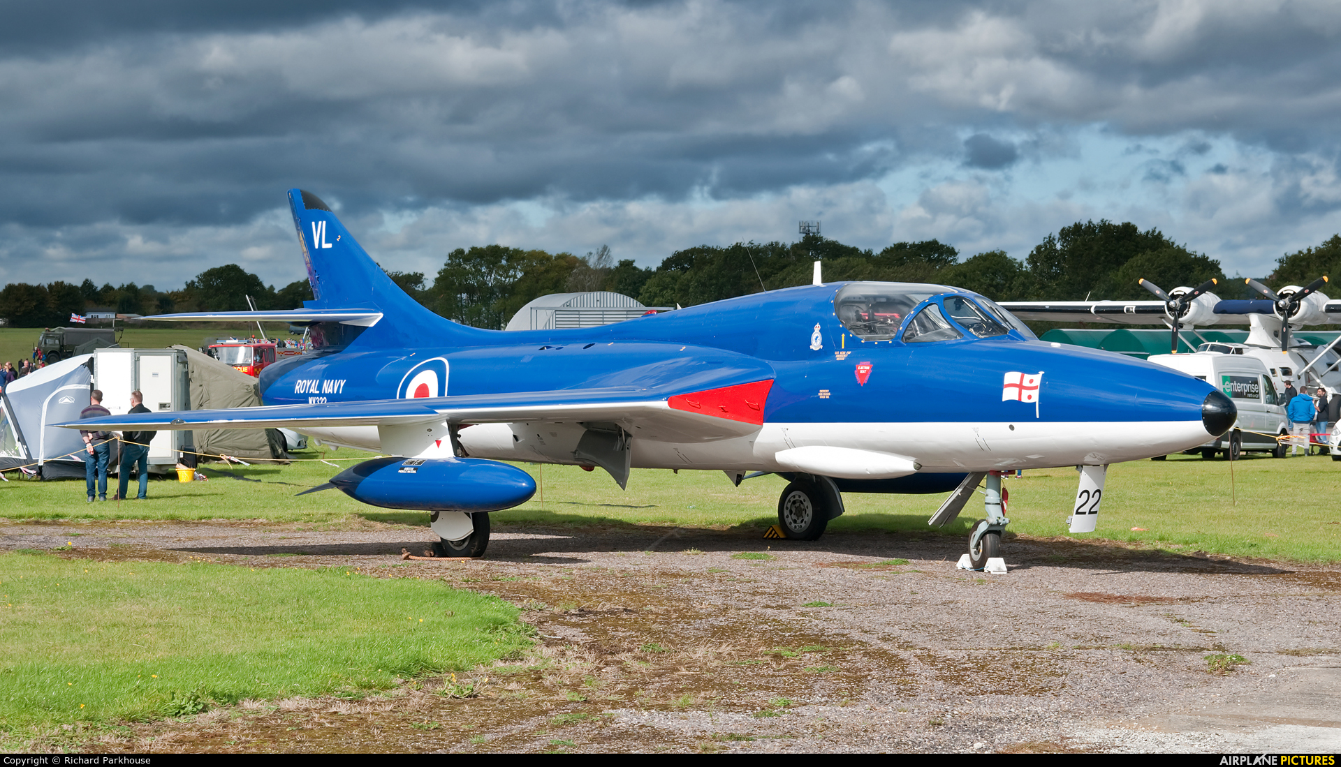 Private G-BZSE aircraft at North Weald