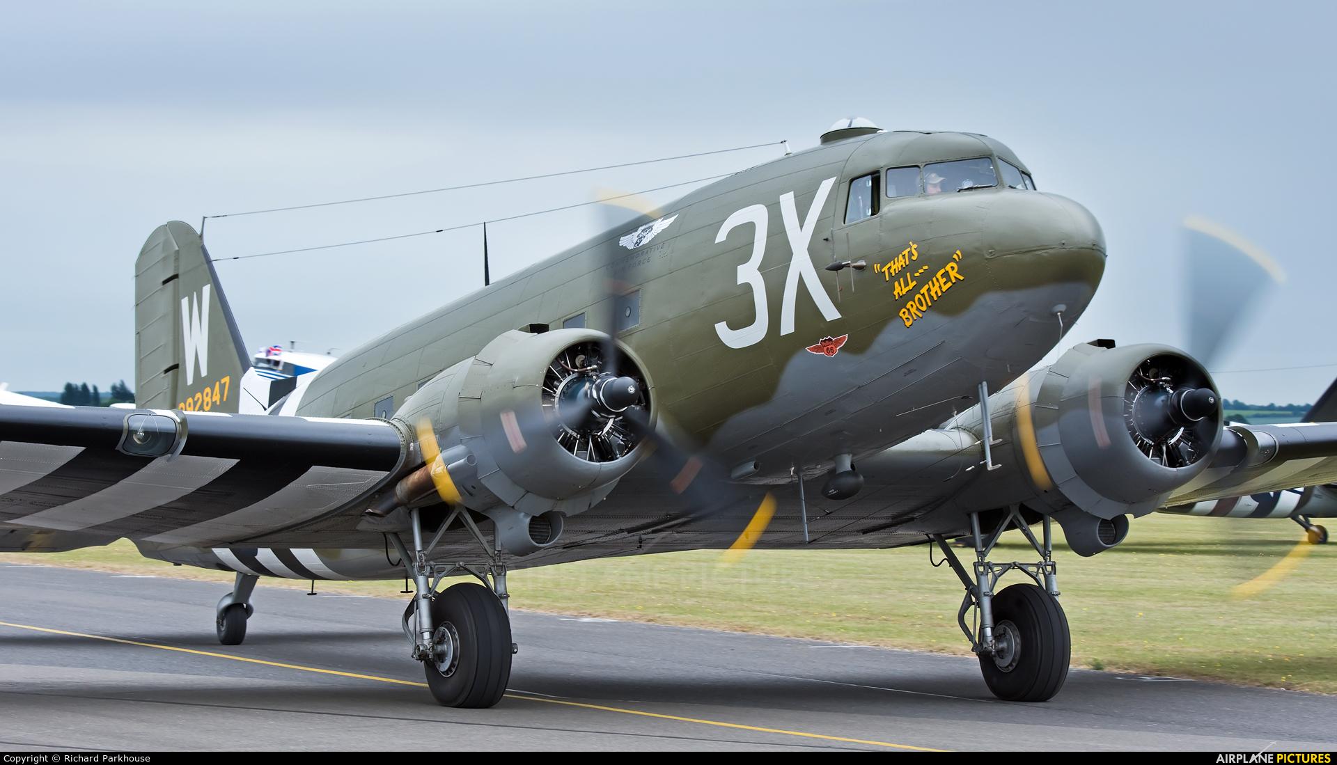 Commemorative Air Force N47TB aircraft at Duxford