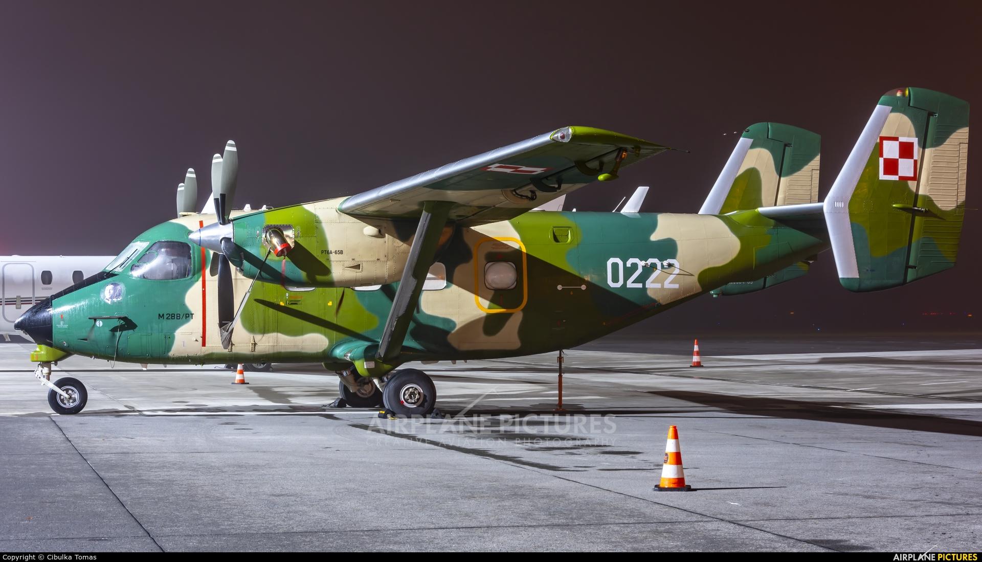 Poland - Air Force 0222 aircraft at Prague - Václav Havel