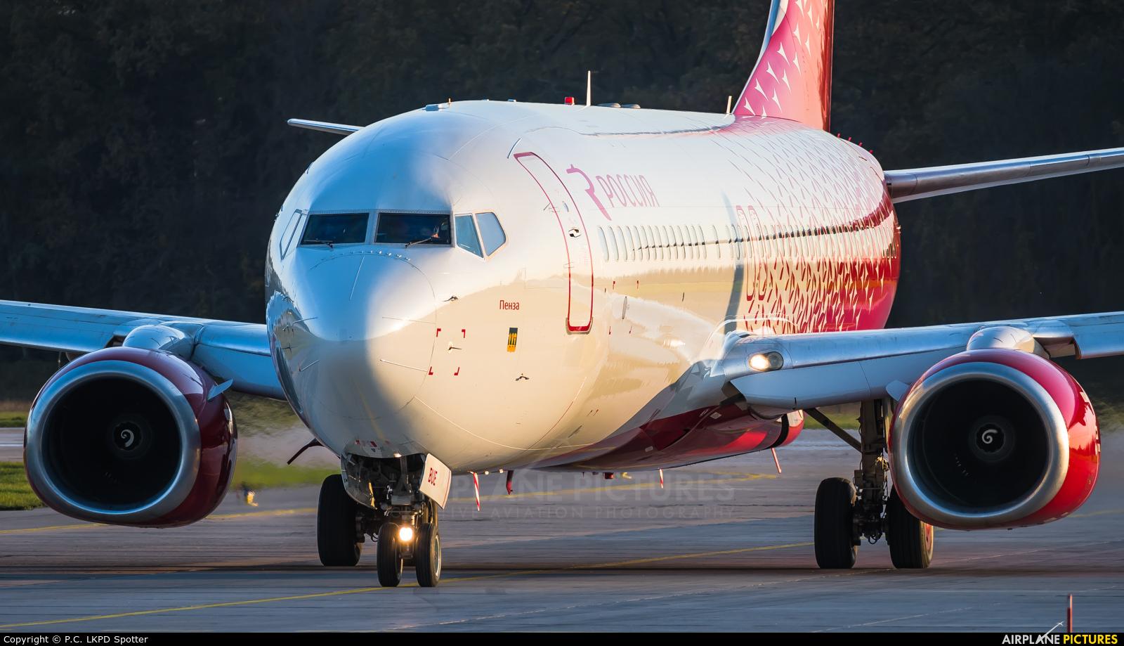 Rossiya VQ-BUE aircraft at Pardubice