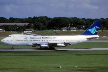 PK-GSB - Garuda Indonesia Boeing 747-200