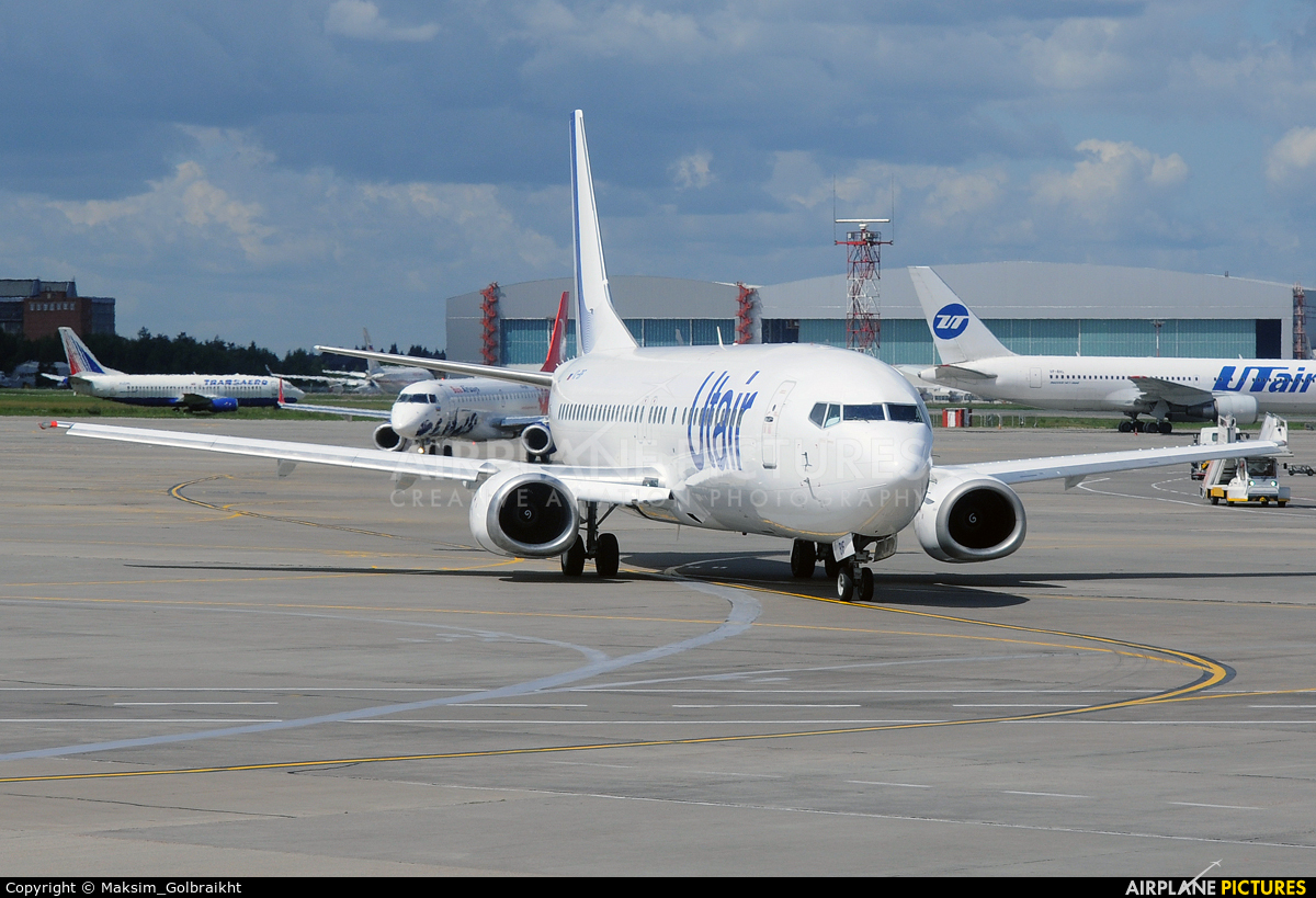 UTair VQ-BIF aircraft at Moscow - Vnukovo