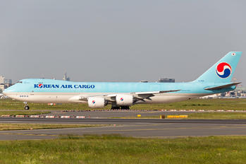 HL7624 - Korean Air Cargo Boeing 747-8F