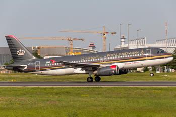 JY-AYX - Royal Jordanian Airbus A320