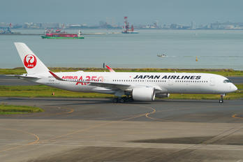 JA01XJ - JAL - Japan Airlines Airbus A350-900