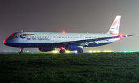 G-EUXG - British Airways Airbus A321 aircraft