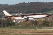 Klaret Aviation Airbus A340 visited Zurich title=