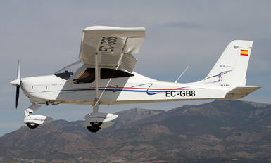 EC-GB8 - Private Tecnam P92 Echo Super