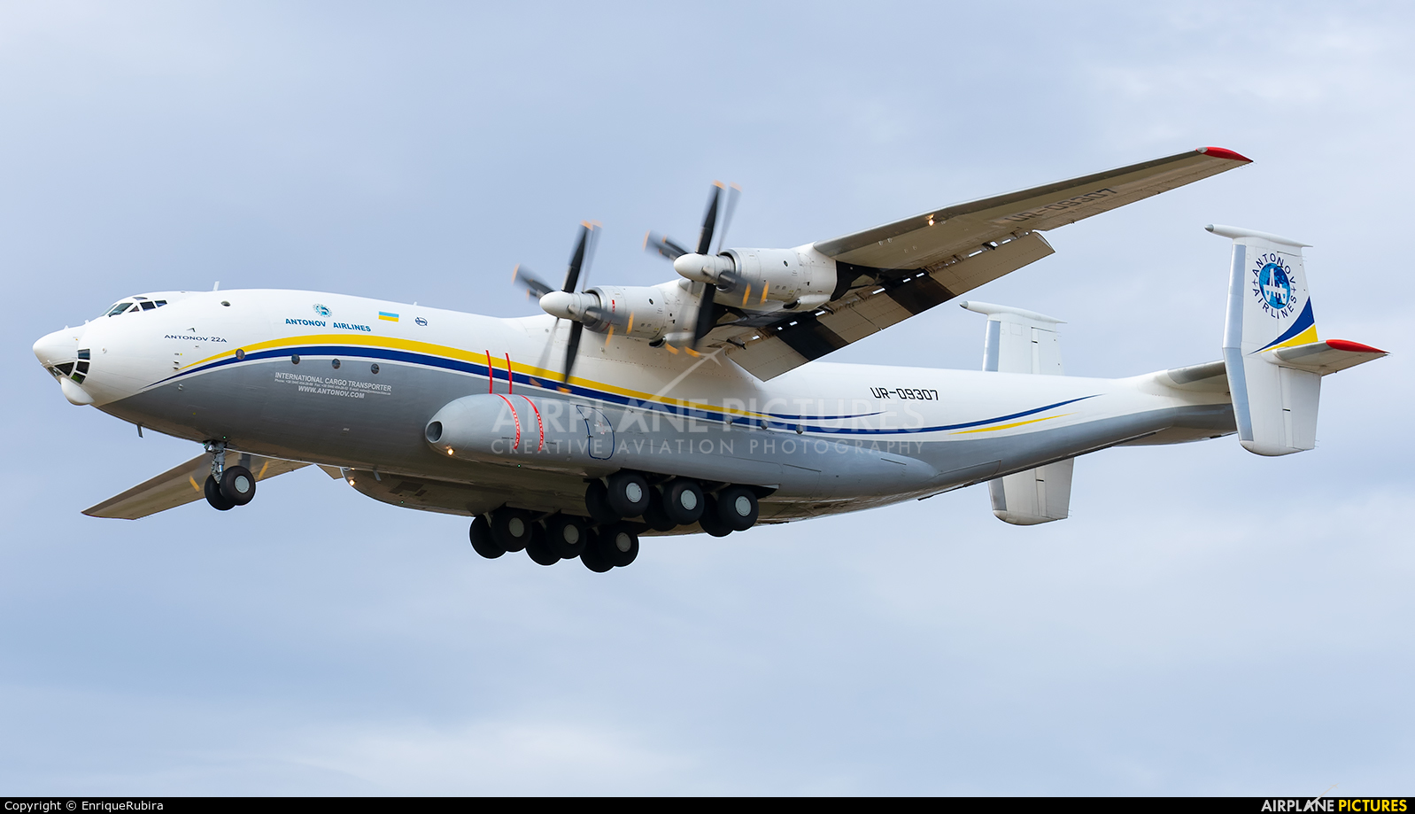 Antonov Airlines /  Design Bureau UR-09307 aircraft at Madrid - Torrejon