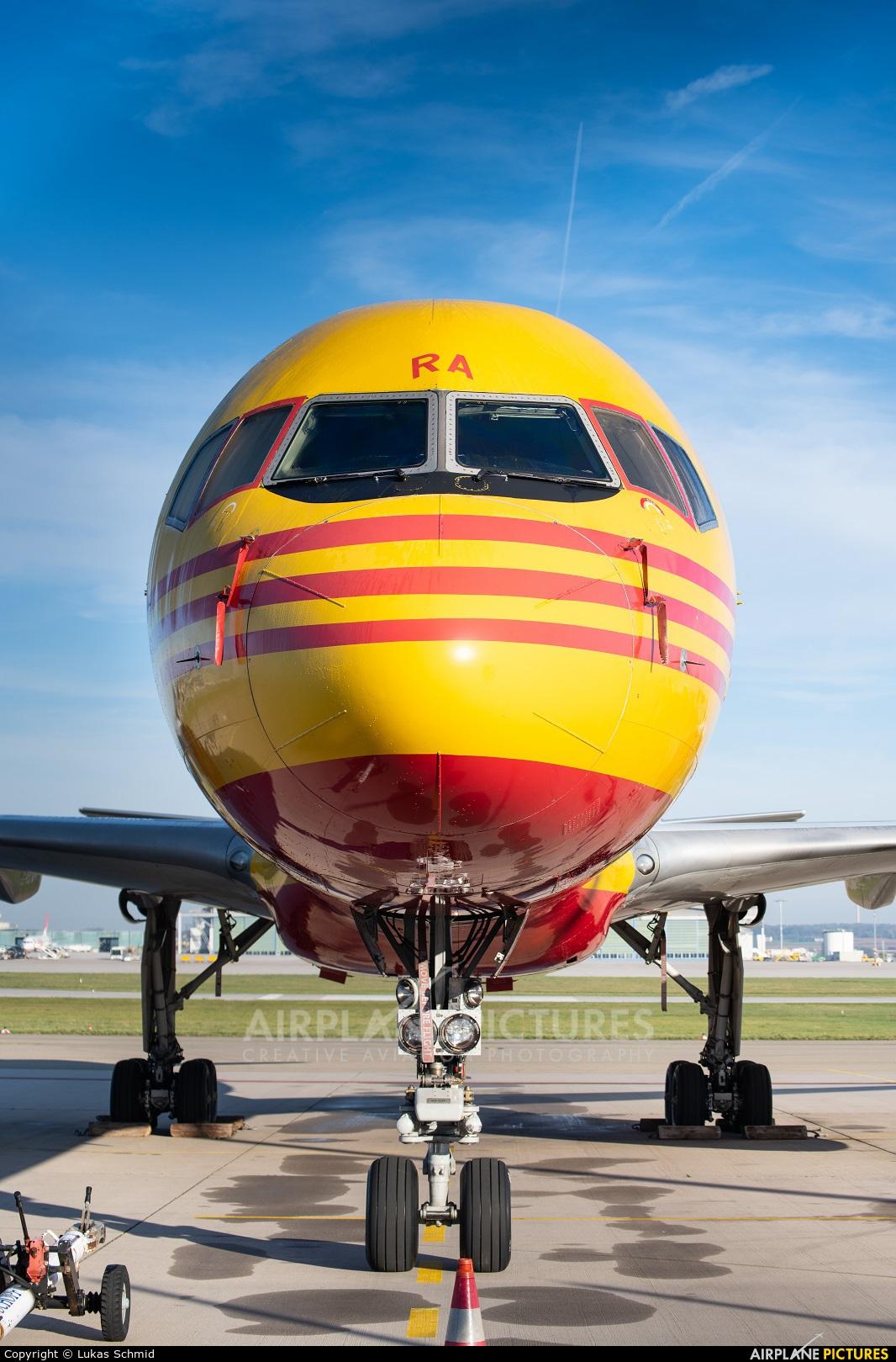 DHL Cargo G-BMRA aircraft at Stuttgart