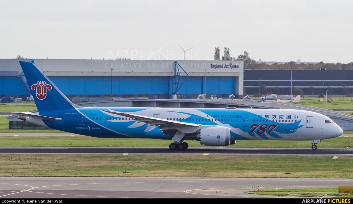 China Southern Airlines B-1168 aircraft at Amsterdam - Schiphol