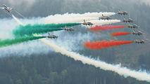 "#1 - Italy - Air Force ""Frecce Tricolori"" Aermacchi MB-339-A/PAN aircraft"