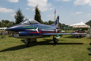 "MM6264 - Italy - Air Force ""Frecce Tricolori"" Fiat G91 aircraft"
