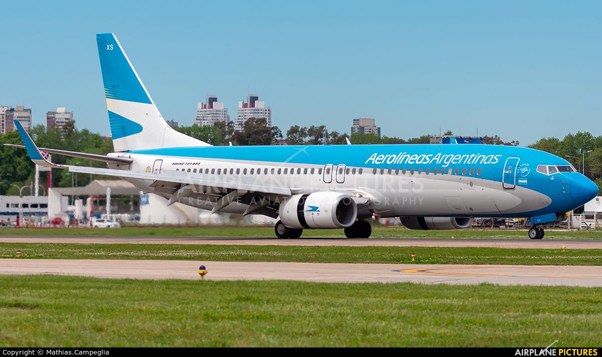 Aerolineas Argentinas LV-CXS aircraft at Buenos Aires - Jorge Newbery