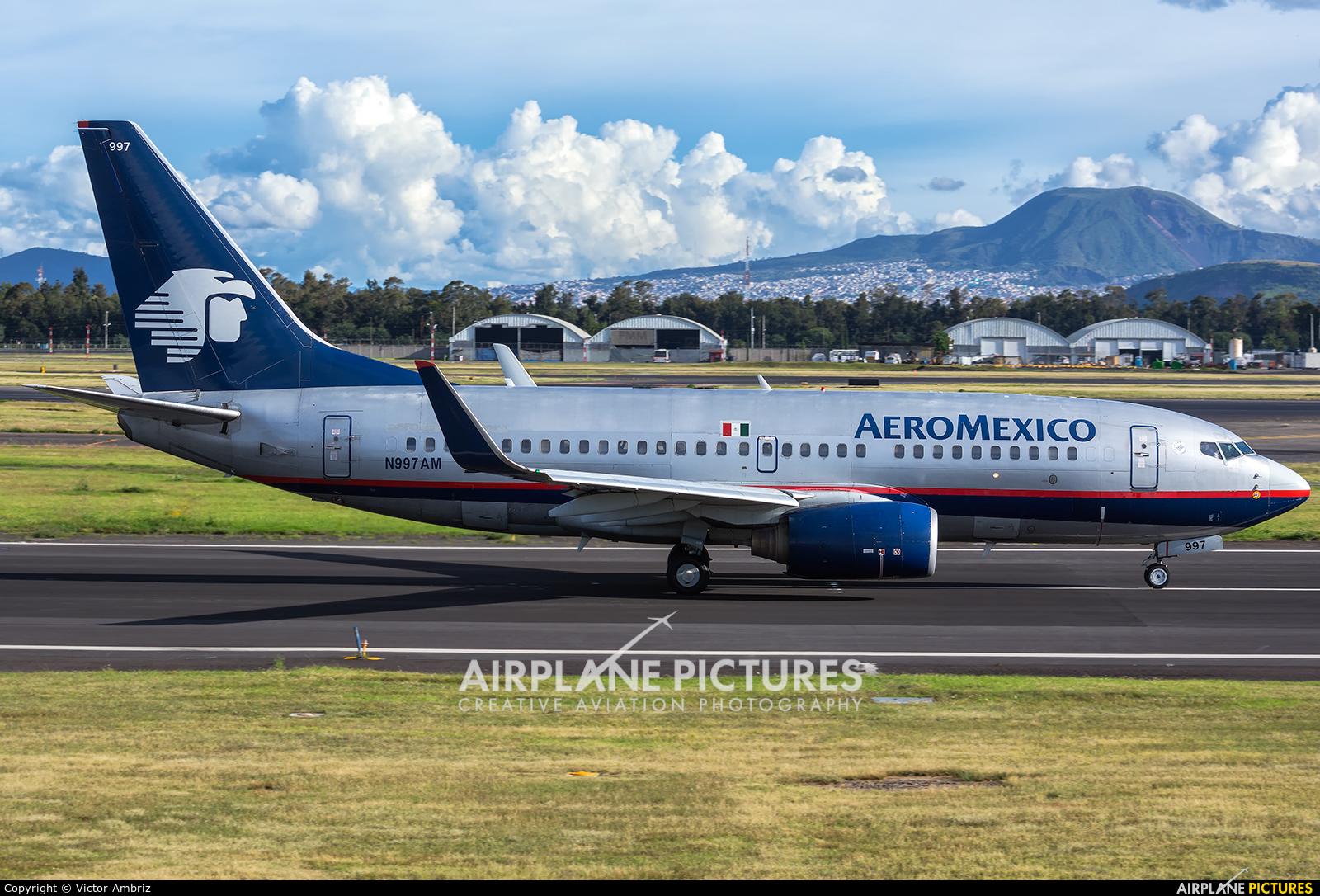 Aeromexico N997AM aircraft at Mexico City - Licenciado Benito Juarez Intl