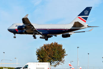 G-BNLY - British Airways Boeing 747-400