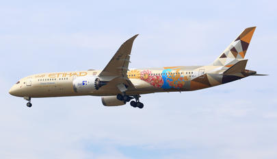 A6-BLJ - Etihad Airways Boeing 787-9 Dreamliner
