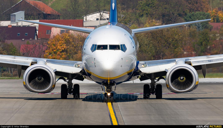 Ryanair EI-DLO aircraft at Kraków - John Paul II Intl