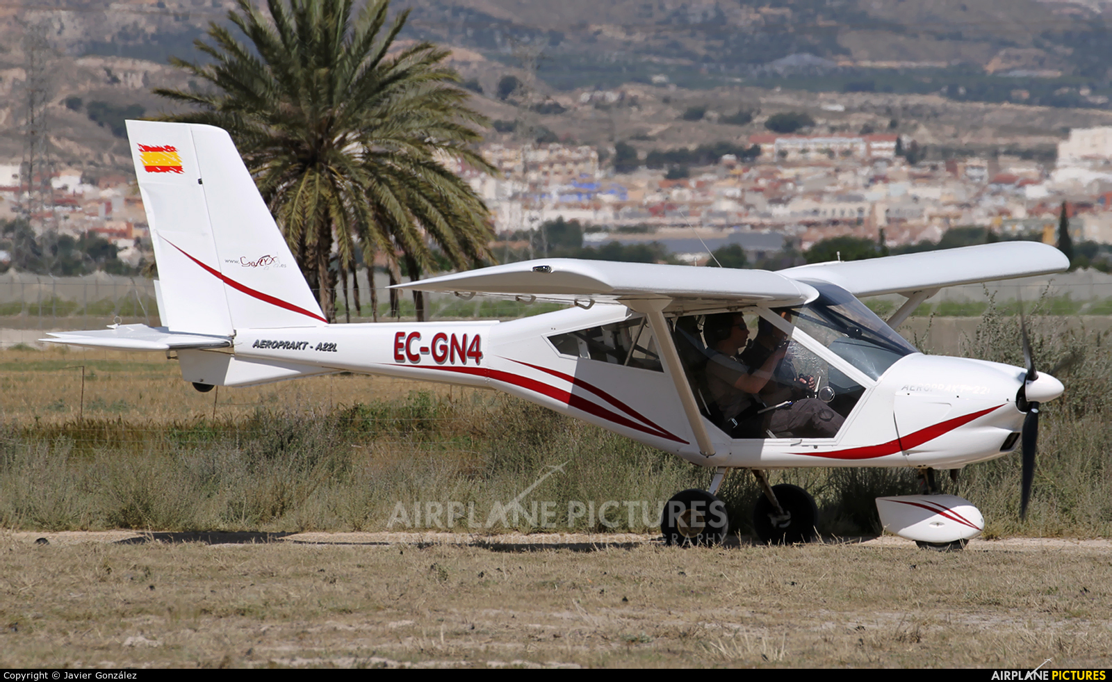Private EC-GN4 aircraft at Totana