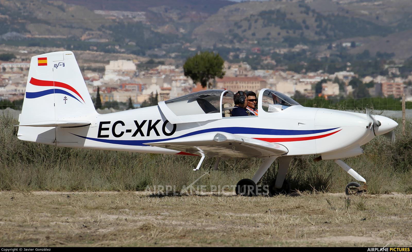 Private EC-XKO aircraft at Totana