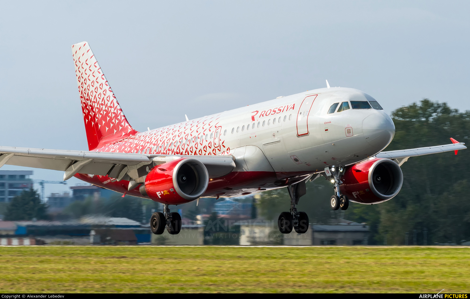 Rossiya VP-BIV aircraft at Sochi Intl
