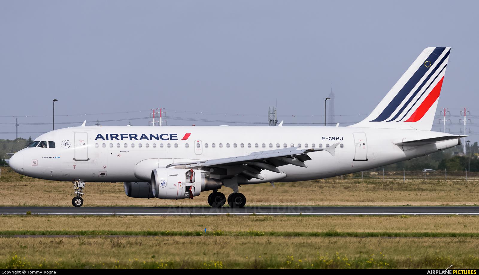 Air France F-GRHJ aircraft at Paris - Orly