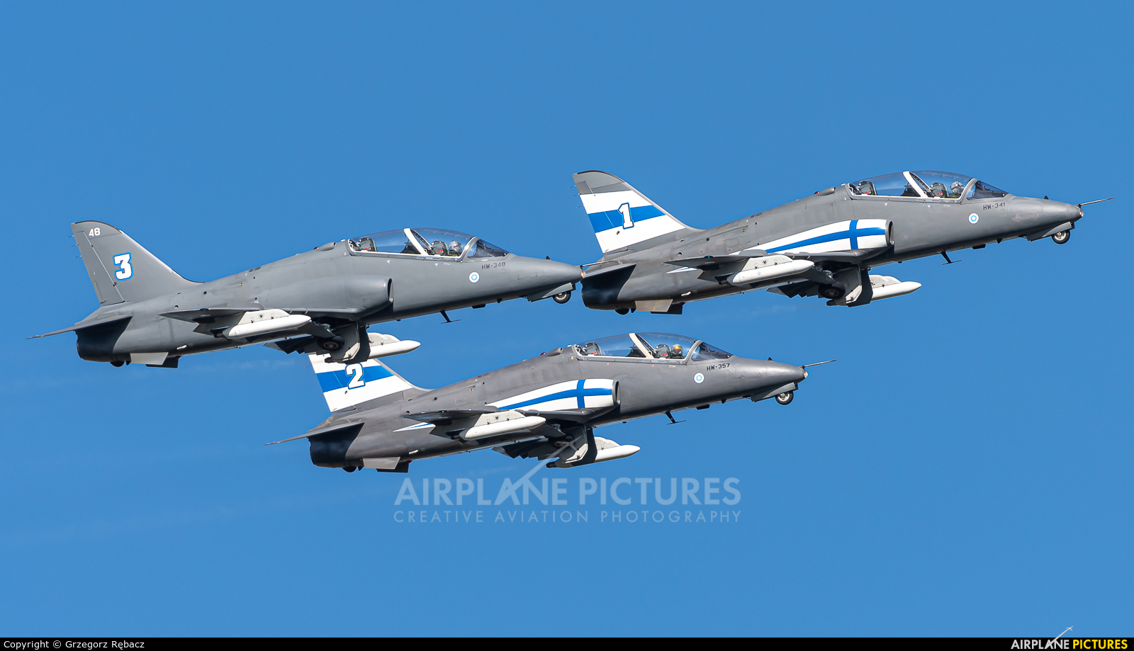 Finland - Air Force: Midnight Hawks HW-341 aircraft at Ostrava Mošnov