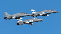 HW-341 - Finland - Air Force: Midnight Hawks British Aerospace Hawk 51 aircraft