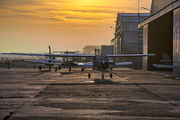 EPWS - Aeroklub Wroclawski - Airport Overview - Hangar aircraft