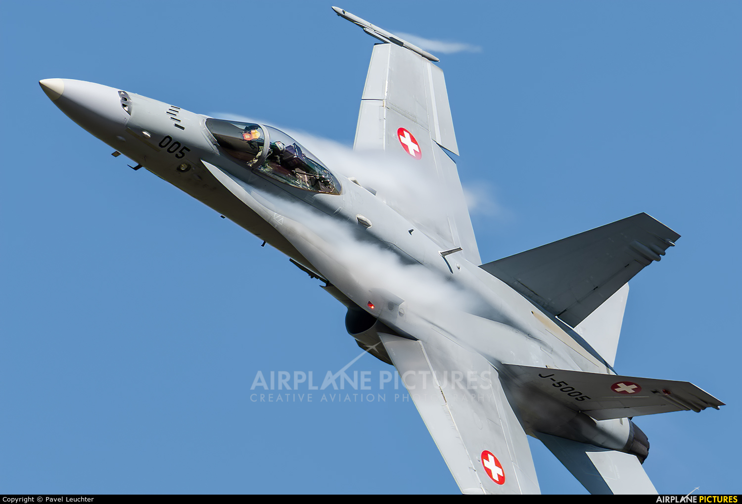 Switzerland - Air Force J-5005 aircraft at Ostrava Mošnov