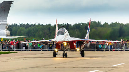 "12 - Russia - Air Force ""Strizhi"" Mikoyan-Gurevich MiG-29UB"