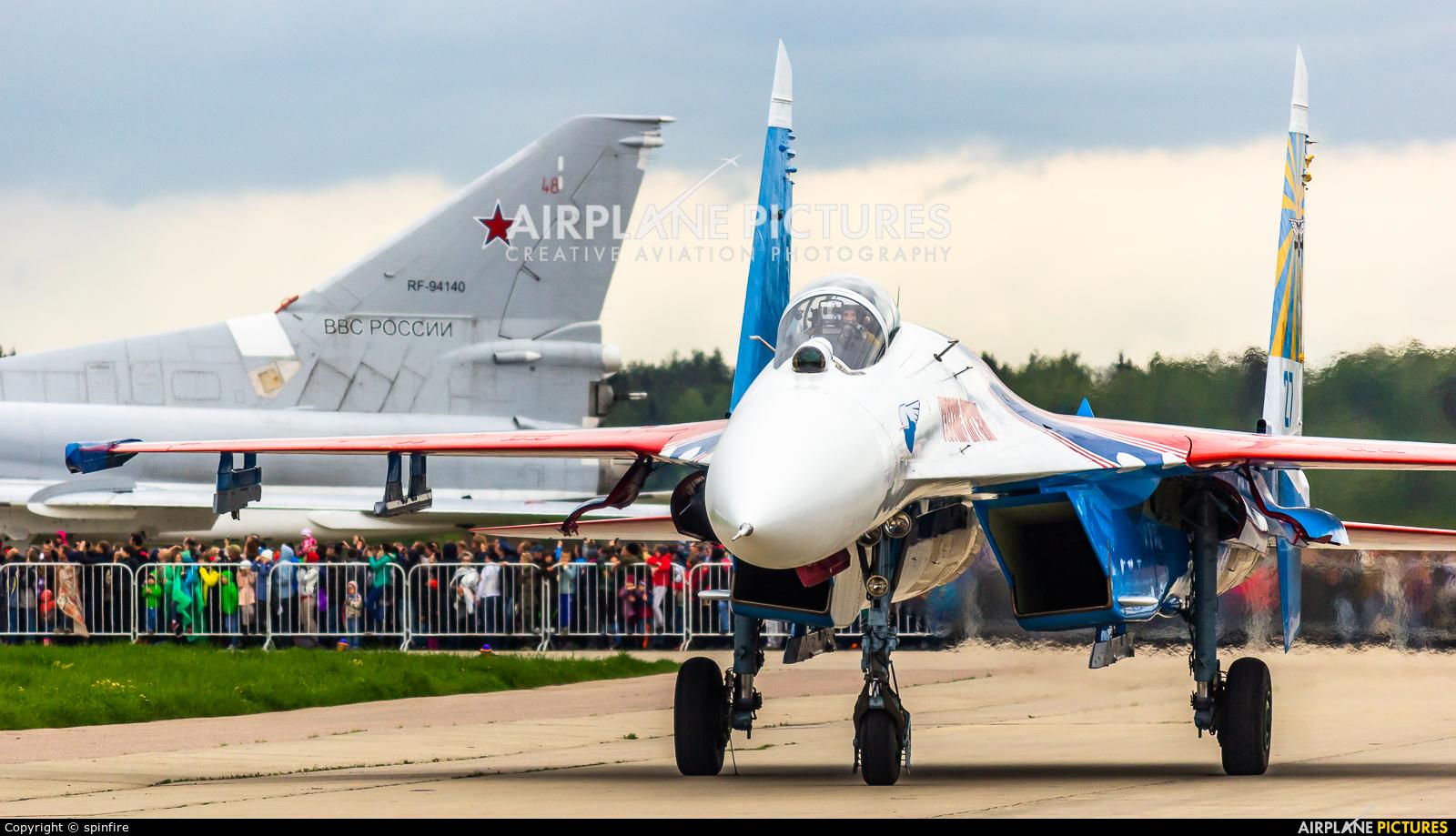 """Russia - Air Force """"Russian Knights"""" 27 aircraft at Kubinka"""