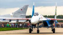 """27 - Russia - Air Force """"Russian Knights"""" Sukhoi Su-27 aircraft"""