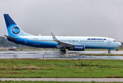 Alrosa Boeing 737 visited Verona title=