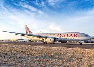 A7-BFD - Qatar Airways Cargo Boeing 777F