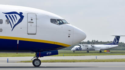 EI-FTT - Ryanair Boeing 737-8AS