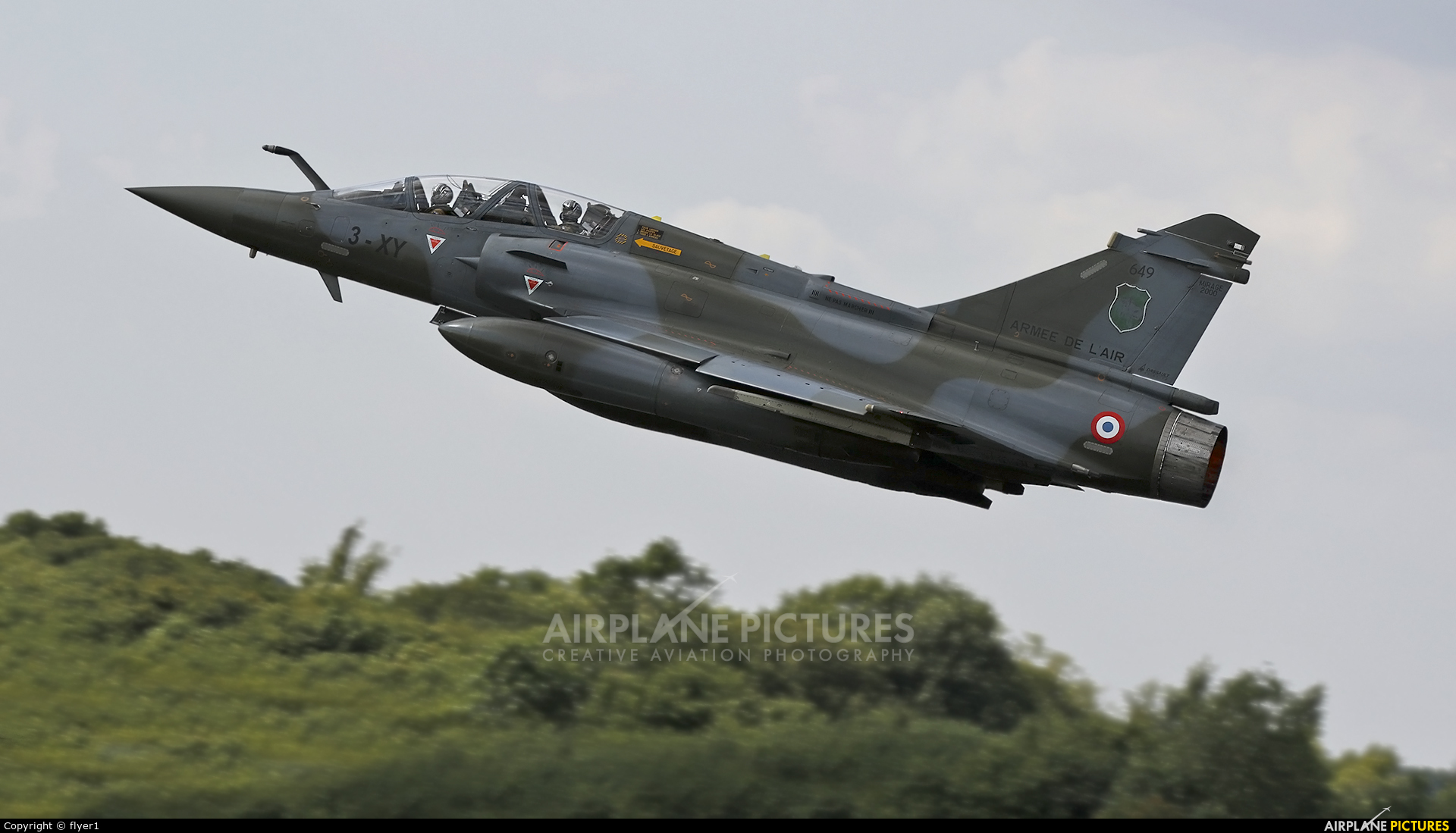 France - Air Force 649 aircraft at Fairford