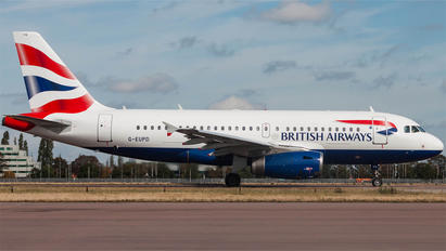 G-EUPD - British Airways Airbus A319