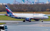 VP-BFG - Aeroflot Airbus A320 aircraft