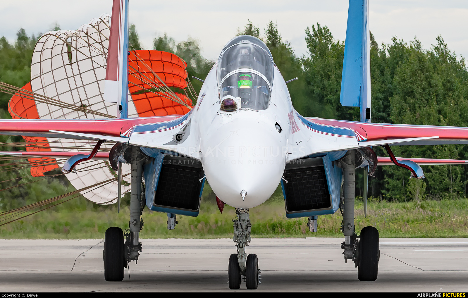 """Russia - Air Force """"Russian Knights"""" RF-81704 aircraft at Kubinka"""