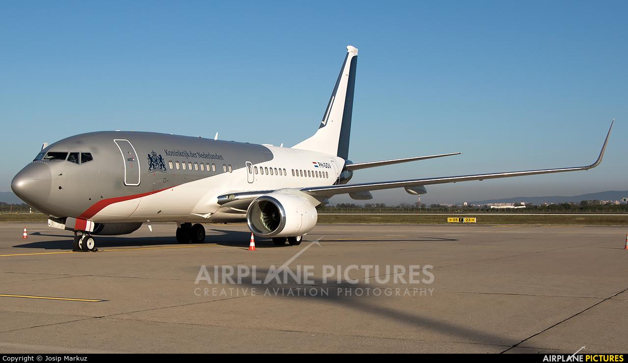 Netherlands - Government PH-GOV aircraft at Zagreb