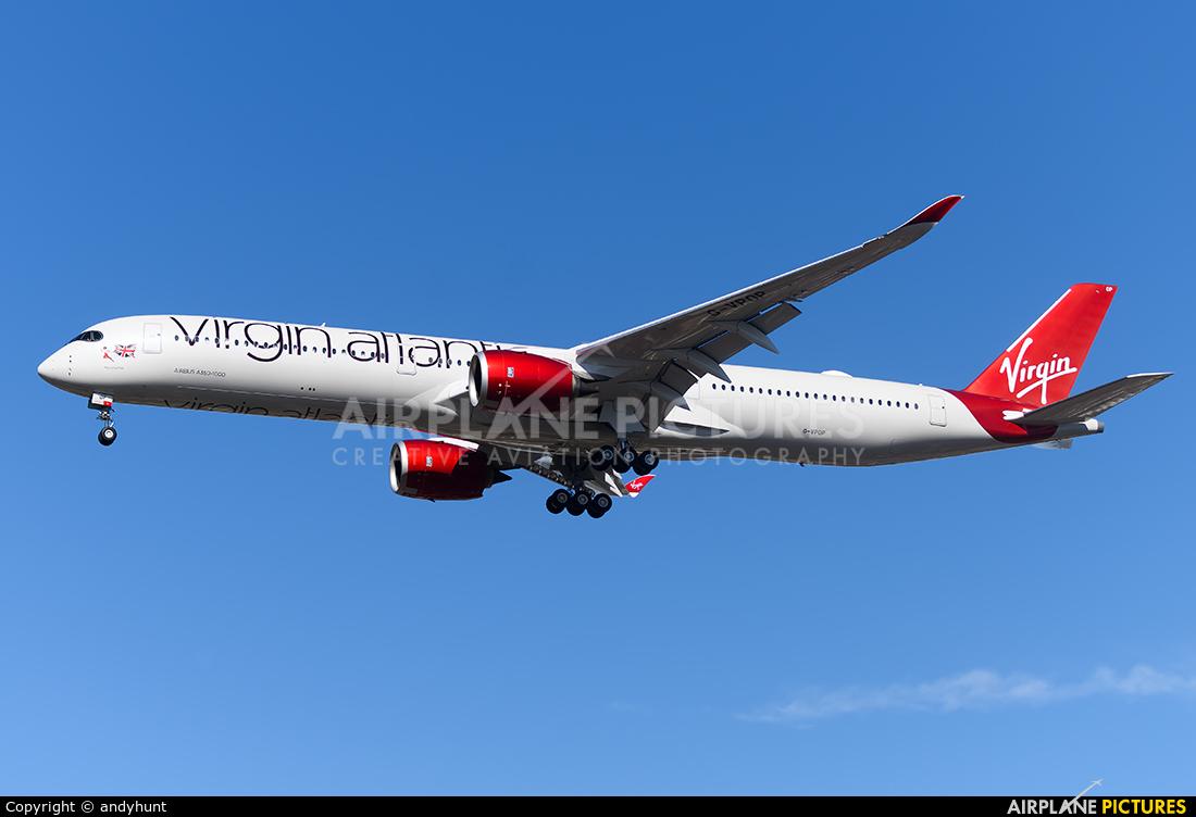 Virgin Atlantic G-VPOP aircraft at London - Heathrow