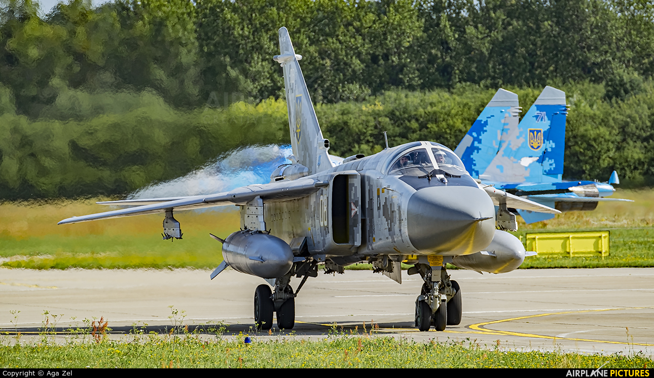 Ukraine - Air Force 08 aircraft at Gdynia- Babie Doły (Oksywie)