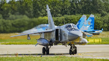 08 - Ukraine - Air Force Sukhoi Su-24M aircraft