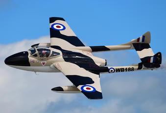 N23105 - Private de Havilland DH.115 Vampire T.55